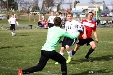 Boys Soccer - CPU vs Western Dubuque-4220