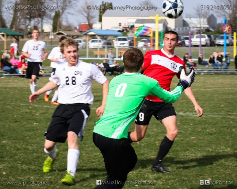 Boys Soccer - CPU vs Western Dubuque-4221